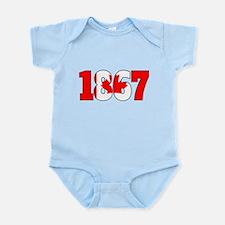 1867 Canadian Confederation Body Suit