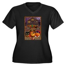 PUMPKIN MASQUERADE Plus Size T-Shirt
