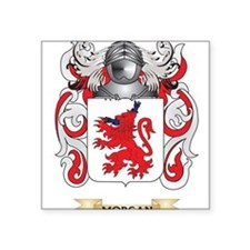 Morgan Coat of Arms - Family Crest Sticker