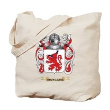 Morgans Coat of Arms - Family Crest Tote Bag