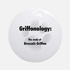 Griffonology Ornament (Round)