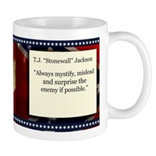 Stonewall Jackson Historical Mugs