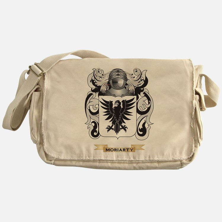 Moriarty Coat of Arms - Family Crest Messenger Bag