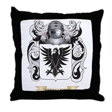 Moriarty Coat of Arms - Family Crest Throw Pillow