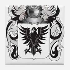 Moriarty Coat of Arms - Family Crest Tile Coaster