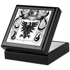 Moriarty Coat of Arms - Family Crest Keepsake Box