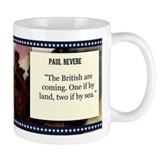 Paul Revere Historical Mugs