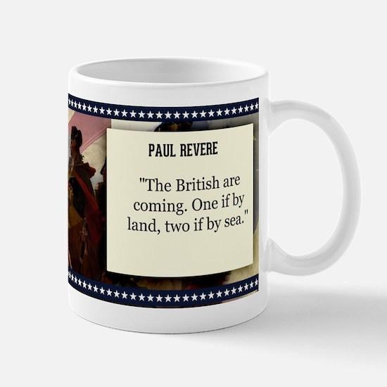 Paul Revere Historical Mugs