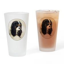 Cavalier King Charles Spaniel Tri Drinking Glass