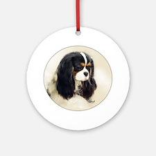Cavalier King Charles Spaniel Tri Ornament (Round)