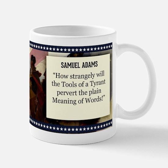 Samuel Adams Historical Mugs