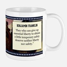 Benjamin Franklin Historical Mugs