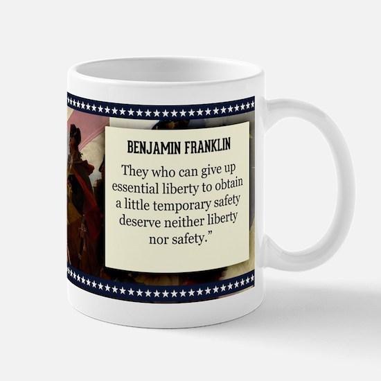 Benjamin Franklin Historical Mugs