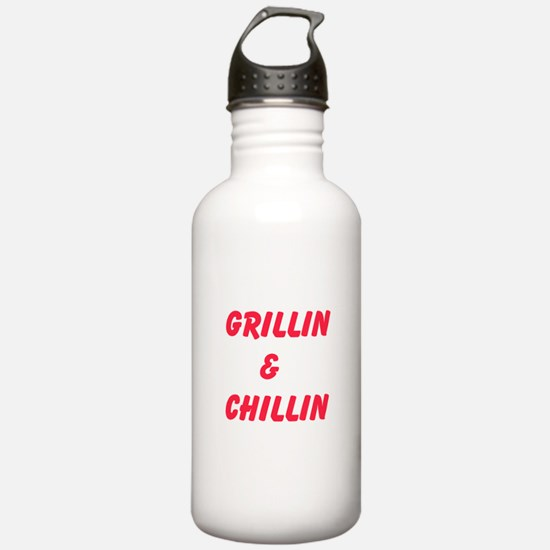 Grillin and Chillin Water Bottle