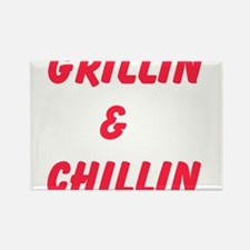 Grillin and Chillin Magnets