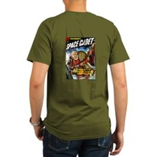Tom Corbett: Space Cadet! dark T-shirt
