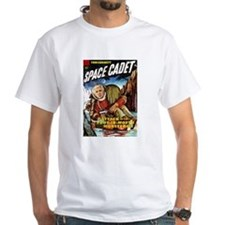 Tom Corbett: Space Cadet! White T-shirt