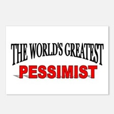 """""""The World's Greatest Pessimist"""" Postcards (Packag"""