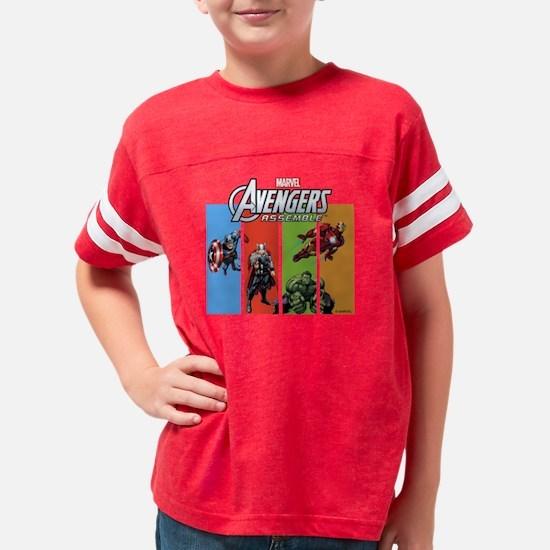 Avengers Assemble Youth Football Shirt