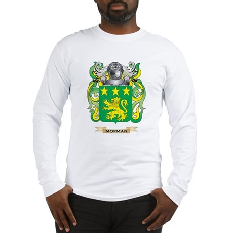 Morman Coat of Arms - Family Crest Long Sleeve T-S