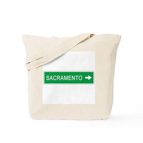 Roadmarker Sacramento (CA) Tote Bag
