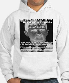 Assad Wanted Poster Hoodie