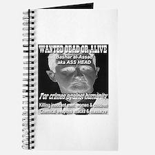 Assad Wanted Poster Journal