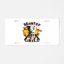 Grillmaster Aluminum License Plate