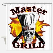 Grillmaster Shower Curtain