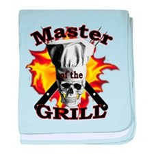 Grillmaster baby blanket