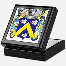 Moroney Coat of Arms - Family Crest Keepsake Box