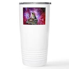 DJ Space Cat Travel Mug