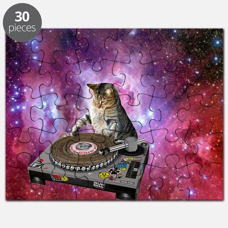DJ Space Cat Puzzle