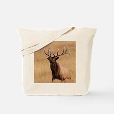 elk charging Tote Bag