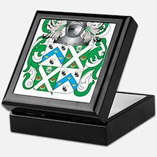 Morris-3 Coat of Arms - Family Crest Keepsake Box