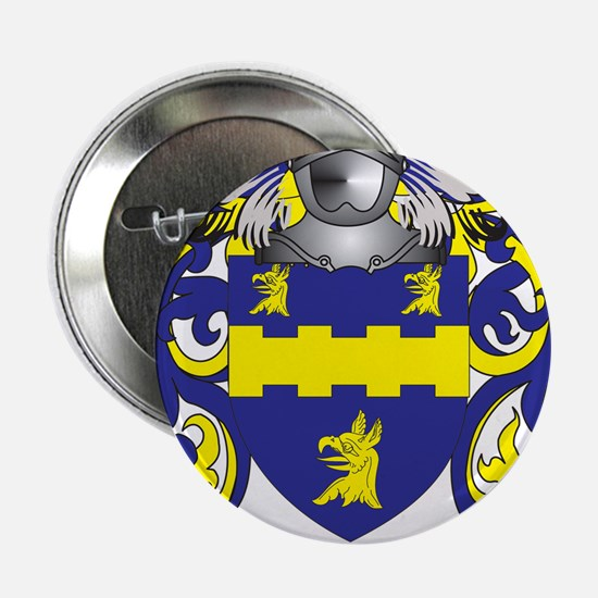 "Morrow Coat of Arms - Family Crest 2.25"" Button"