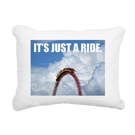 It's Just a Ride Photo | Rectangular Canvas Pillow