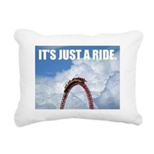 It's Just a Ride Photo | Rectangular Canvas Pillow