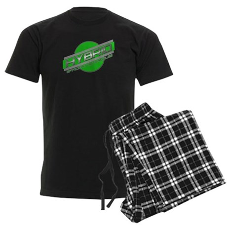 Hybrid Automobiles Men's Dark Pajamas