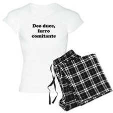 Deo duce, ferro comitante pajamas
