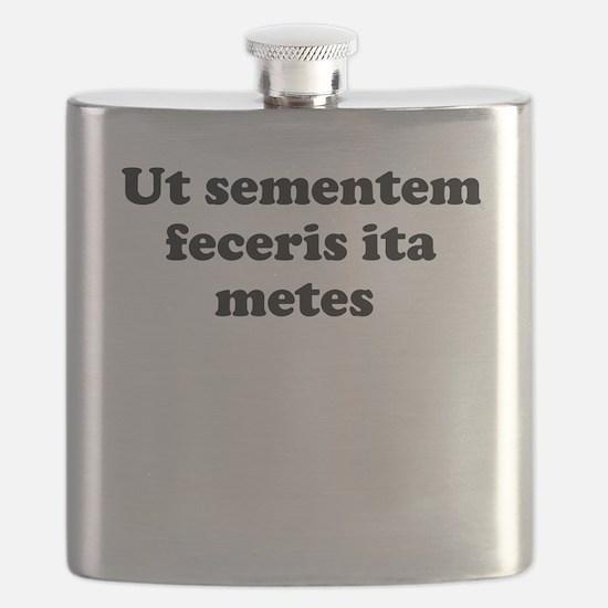 Ut sementem feceris ita metes Flask
