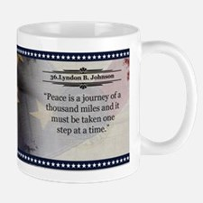 Lyndon B. Johnson Historical Mugs