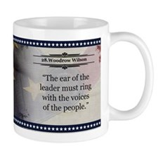 Woodrow Wilson Historical Mugs