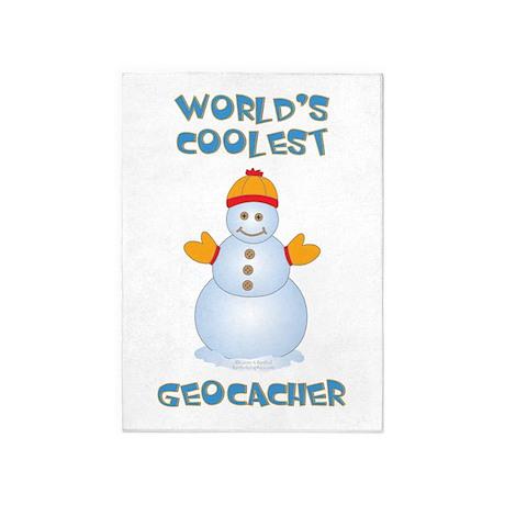 World's Coolest Geocacher 5'x7'Area Rug