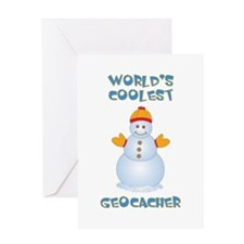 World's Coolest Geocacher Greeting Card
