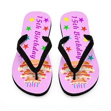 15TH PARTY Flip Flops