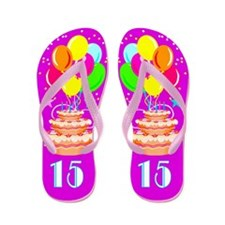 WONDERFUL 15TH Flip Flops