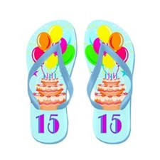 DARLING 15TH Flip Flops