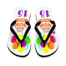 FESTIVE 15TH Flip Flops