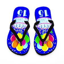 TERRIFIC 15TH Flip Flops